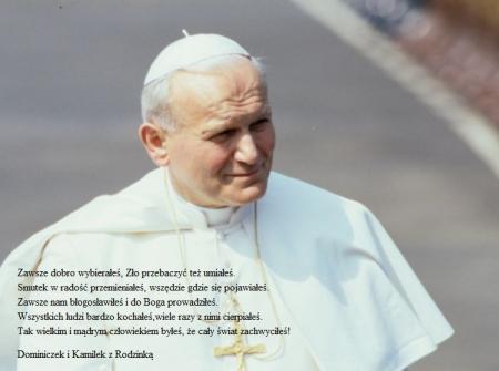 100- lecie urodzin Świętego Jana Pawła II
